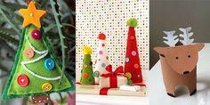 15 einfache DIY Bastelideen fürs Weihnachtsbasteln mit Kindern Wie gerne haben wir doch in der Adventszeit mit Mama Plätzchen gebacken, Bilder als Geschenke
