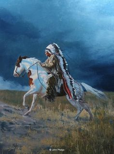 Favourites on Friday - The American Indian Horse - Medicine Hat and War Paint — Joy V Spicer
