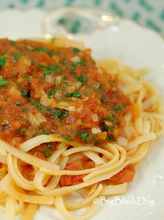 A 15-minute Pasta Red Sauce that will change your life!