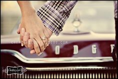 Cars and engagement sessions