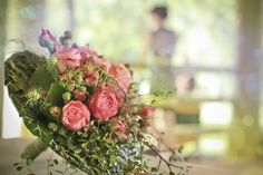 Brode flower bouquet