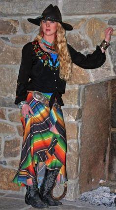 Tasha Polizzi Gonzales Serape Skirt from Cowgirl Kim