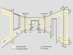 вертикальное расположение выключателей на плане - Поиск в Google