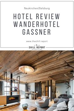 Hotel-Review-Wanderhotel Gassner - The Chill Report Das Hotel, Hotel Reviews, Track Lighting, Chill, Pergola, Outdoor Structures, Ceiling Lights, Home Decor, House On Stilts