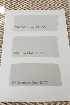 How to Pick White and Grey Paint Colors/grey paint colors Benjamin Moore - So Much Better With Age Picking white and grey paint colors for your house can be hard! Check out these tips on how to narrow it down and pick the perfect one! Gray Owl Paint, White Paint Colors, Bedroom Paint Colors, Interior Paint Colors, Paint Colors For Home, White Paints, House Colors, Neutral Paint, Gray Color