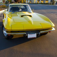 "1967 Chevrolet Corvette Sting Ray. A beautiful C-2 ""Mid Year"" 'Vette. The unofficial title ""Mid Year"" applied to any Corvette from 1963 thru 1967."