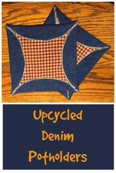 Denim I Spy Rag Quilt Made From Old Jeans Hangryfork Com