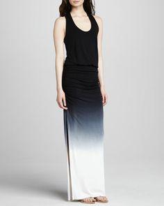Young Fabulous and Broke Mel Ombre Maxi Dress, Black - Neiman Marcus