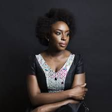 """theijeoma: Chimamanda Ngozi Adichie on the World of African Literature… """"…As for broader issues, she says that """"race is a present thing in America, and it isn't in Nigeria."""" But gender is a problem in. African Literature, World Literature, Chimamanda Ngozi Adichie, Afro, Marie Claire, Girls Magazine, African Culture, Nigerian Culture, We Are The World"""