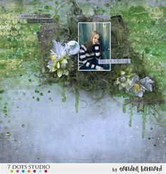 January 2017 challenge by Sandra Bernard Mixed Media Scrapbooking, Creations, Dots, Challenges, Journey, Diy Crafts, In This Moment, 2017 Challenge, Layouts