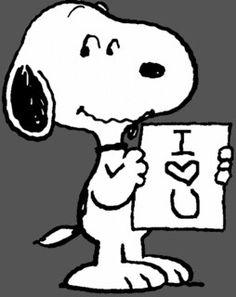 I love you too snoopy!