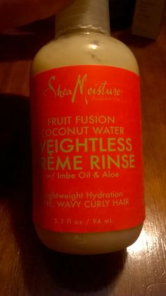 shea moisture fruit fusion weightless creme rinse