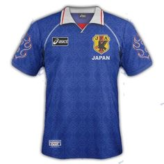 Japan home shirt for the 2002.