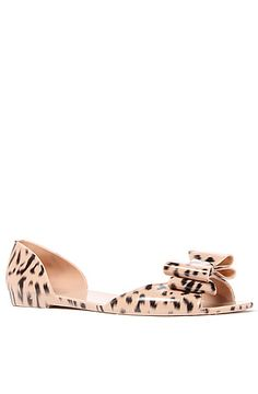 The Fly Jelly Flat in Cheetah Print by Fiebiger $26.00