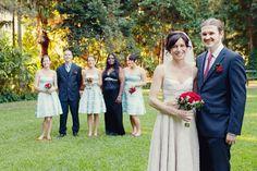 Wedding at the Brisbane Botanic Gardens