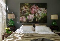 Jurnal de design interior: Motive florale într-o casă din Australia