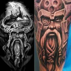 ... Viking Tattoo Sleeve on Pinterest | Nordic tattoo Viking tattoos and