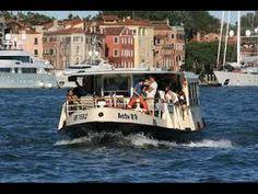 VENICE: VAPORETTO (boat) RIDE from MURANO to BURANO, Italy