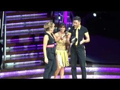 Strictly Live Tour 2016 - O2 , Gio getting to grips with the local lingo - YouTube
