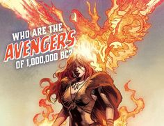 Meet Marvel's 1,000,000 BC Avengers: Phoenix, Iron Fist, And Agamotto – A Modern Stone-Age Family
