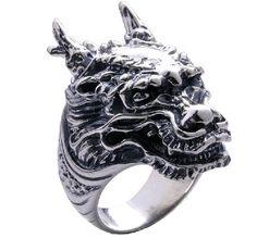 Handmade Lucky Dragon Ring #ring #mens #dragon