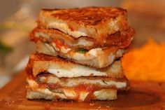 Chicken Parm Grilled Cheese | 31 Grilled Cheeses That Are Better Than A Boyfriend