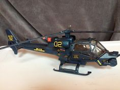 Helicopter Blue Thunder 1983 Columbia Pictures Original