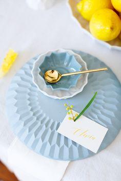 {A Pop Of Yellow} Lemon Themed Wedding Inspiration  Photography: Masha Bakker