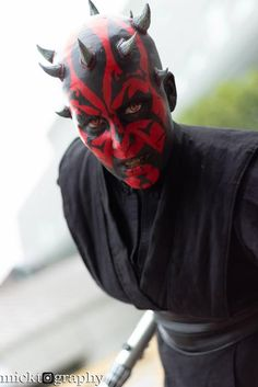 This wicked looking femme Darth Maul features cosplayer Kayla Rose Cosplay in pictures captured by Micktography. Kayla is a huge Darth Maul fan and created ...