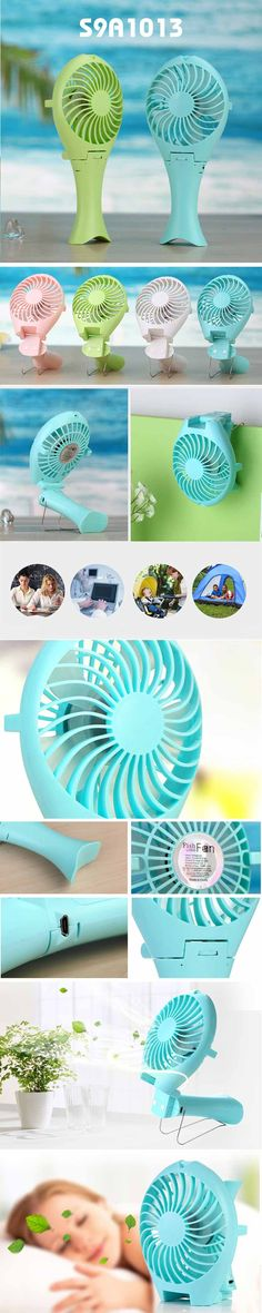 Foldable USB Fan with Power Bank  *Portable Power Bank *Capacity: 1500MAH, Battery: 18650 Li-ion Battery *Working Time: 1.5-3 hours *Charging Time: 3 hours *Unit size: 10x24cm *Material: ABS www.ideagroupigm.com