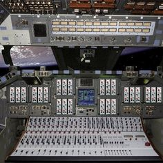 Rupert Neve Mixing Console In Space