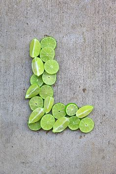 Letter L for Limes by Pink Sherbet Photography, via Flickr