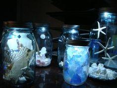beach grass — Moon Shiner, Solar Jar Lid Light