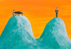 Illustrations and stories by Montse Clotet Ben Folds, Careless Whisper, Music Illustration, Acrylics, Collage, Outdoor Decor, Art, Kunst, Collage Art