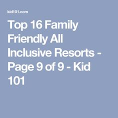 All Inclusive Hawaii Resorts Family Vacation Critic All - The 9 best family friendly resorts in hawaii