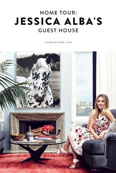 EXCLUSIVE: Tour Jessica Alba's guest house
