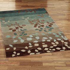 Waiting room throw rug idea