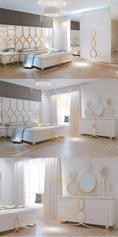 Sahara Bedroom Jewelry which makes a difference with its aesthetic style . - Home Decor Modern Luxury Bedroom, Luxury Bedroom Design, Bedroom Closet Design, Bedroom Furniture Design, Home Room Design, Master Bedroom Design, Luxurious Bedrooms, Living Room Decor Curtains, Home Decor Bedroom