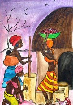 Art Blog-Wild Life Art- African Ethnic Art- Landscapes-Still life-Abstract