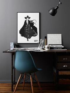 The Eames chair as a perfect addition to you home office - Roomed Home Office Design, Home Office Decor, House Design, Home Decor, Office Ideas, Office Designs, Workspace Inspiration, Room Inspiration, Interior Inspiration