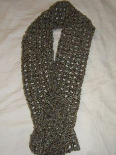 Hand Crocheted Scarf by AshDesignsHB on Etsy, $15.00