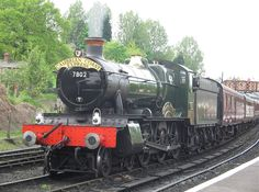 GWR 7802 Bradley Manor