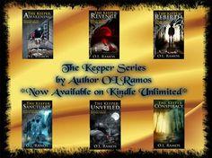The Keeper Series  The Keeper: Awakening ( Book 1 ) FREE  Amazon:  http://www.amazon.com/Keeper-Awakening-Book-ebook/dp/B00CDZTL96/ref=sr_1_4?s=digital-text&ie=UTF8&qid=1420472585&sr=1-4&keywords=OL+Ramos