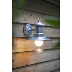 Garden Trading St Ives Ships Light Galvanised Lamp - Garden Trading from Hurn & Hurn UK