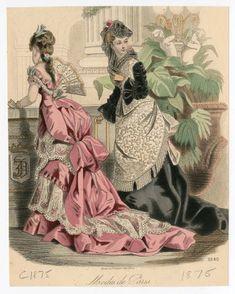 Women 1875-1876, Plate 014 :: Costume Institute Fashion Plates