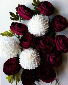 #paper #flowers #crepepaperflower #italianpaper #cartotecnicarossi #decoration