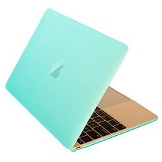 """Mosiso New Macbook 12 Inch Case Ultra Slim Smooth Matte Finish Hard Shell See Through Protective Cover for MacBook 12"""" with Retina Display A1534 (2016 / 2015 Newest Version) Mint Green"""