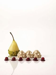 Poire williams mousse de marrons