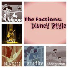 Divergent and Disney!