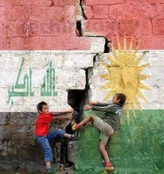 The birth of a new country.  Kurdistan